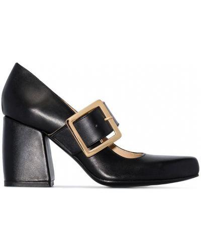 Туфли с пряжкой черные Roker