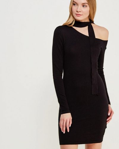 Черное вечернее платье Lost Ink.