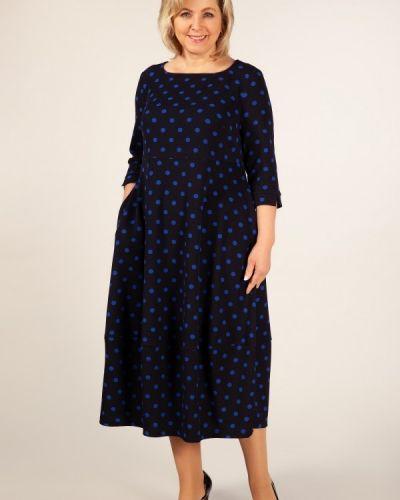 Платье в стиле бохо в горошек милада