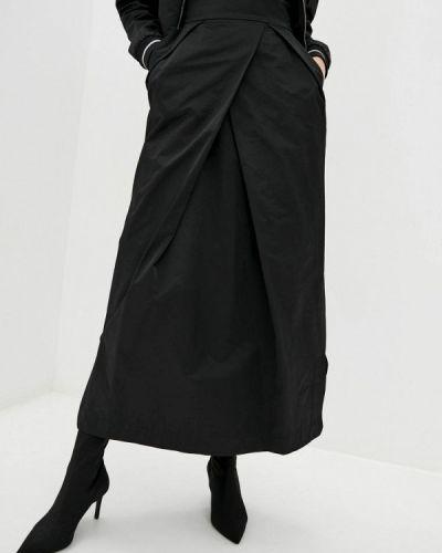 Черная юбка свободного кроя Bgl