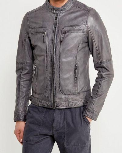 Серая куртка Oakwood