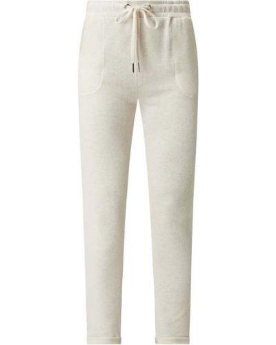 Beżowe spodnie dresowe bawełniane Frogbox
