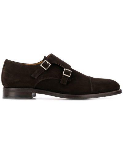Монки на каблуке плоский Berwick Shoes