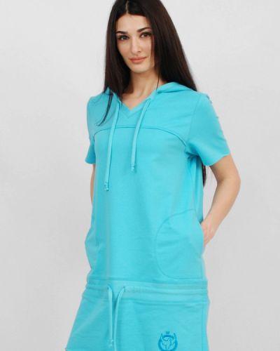 Бирюзовое платье Sab