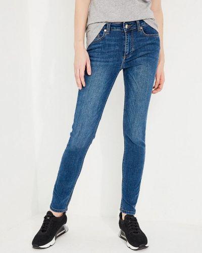 Синие джинсы с высокой посадкой Liu Jo Jeans