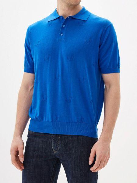 Синяя футболка Cudgi