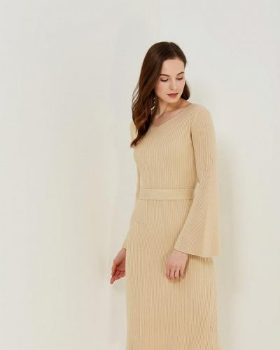 Бежевое платье Conso Wear
