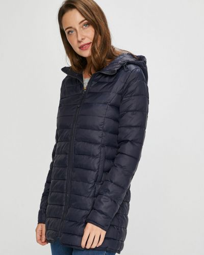Стеганая куртка с карманами прямая Only