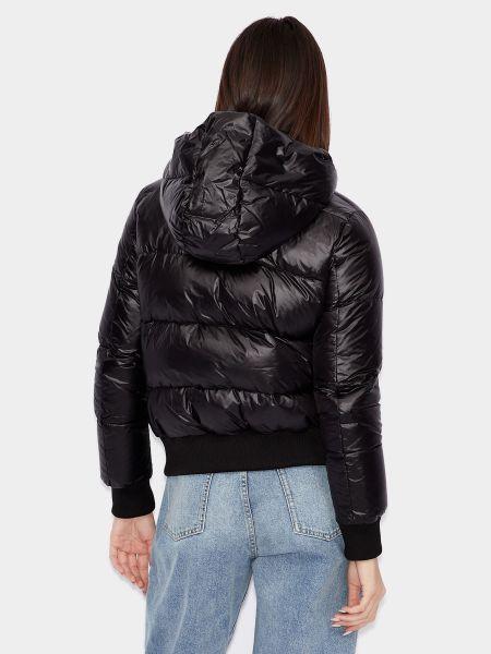 Черная куртка Armani Exchange