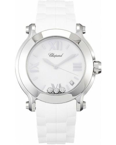Zegarek sportowy - biały Chopard
