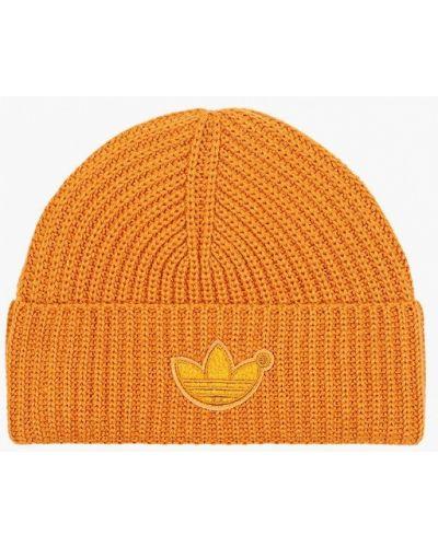Шапка - оранжевая Adidas Originals