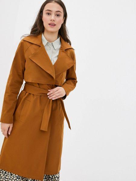 Плащ коричневый весенний Rosso-style