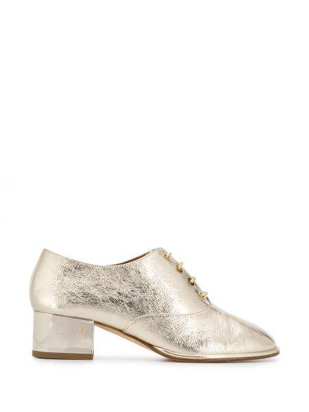 Туфли на каблуке на шнуровке Laurence Dacade