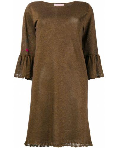 Платье расклешенное с рукавами Kristina Ti