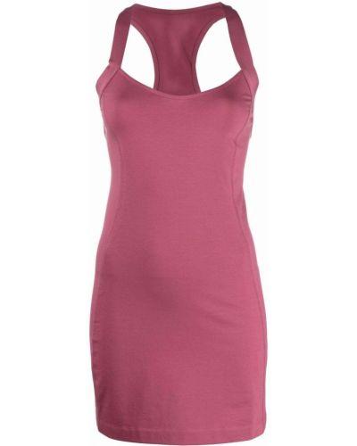 Розовое платье без рукавов Diesel