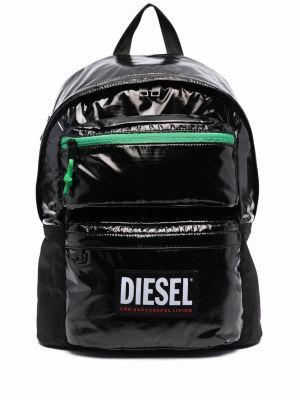 Plecak z printem - biały Diesel