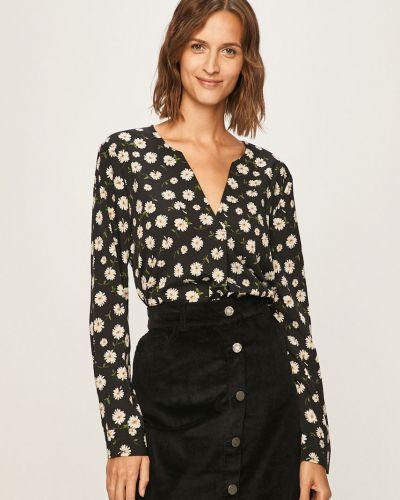 Блузка с V-образным вырезом прямая Jacqueline De Yong