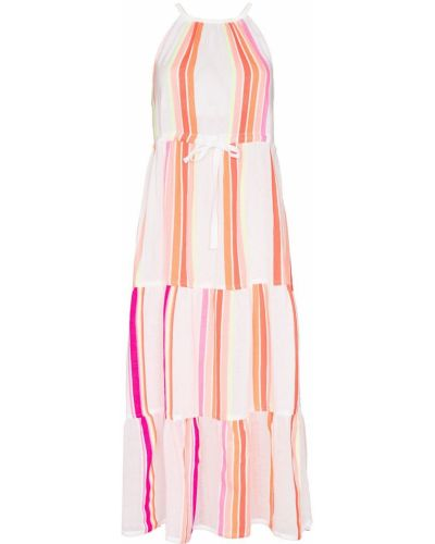 Хлопковое платье миди - белое Lemlem