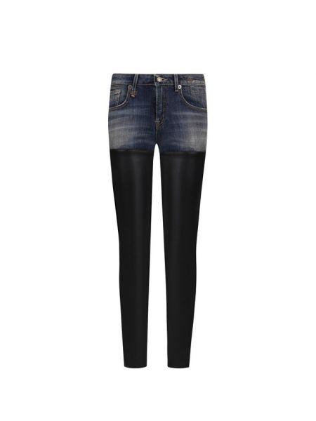 Джинсовые зауженные джинсы - синие R13