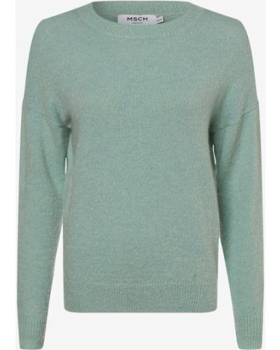 Zielony sweter moherowy Moss Copenhagen