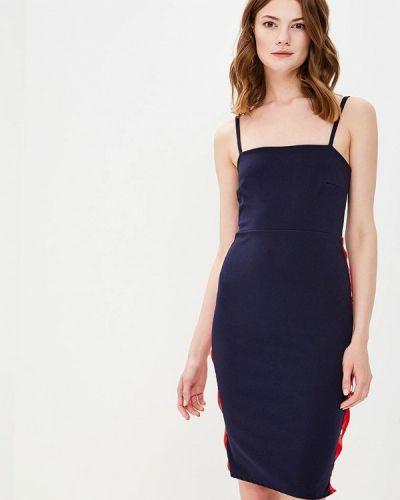Платье весеннее синее Edge Street