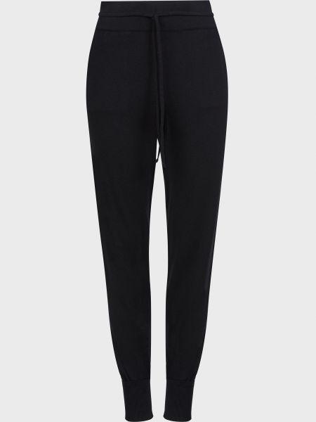 Черные брюки из вискозы Kontatto