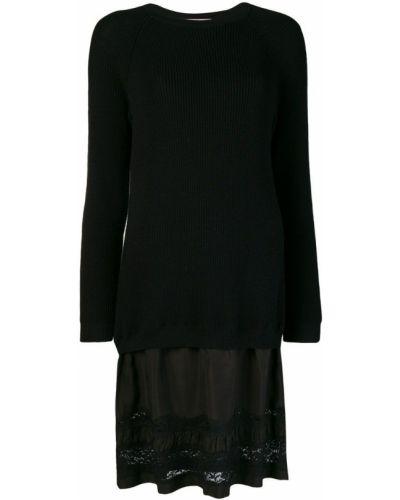 Платье длинное ажурное Moschino