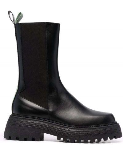Черные резиновые ботинки Grey Mer