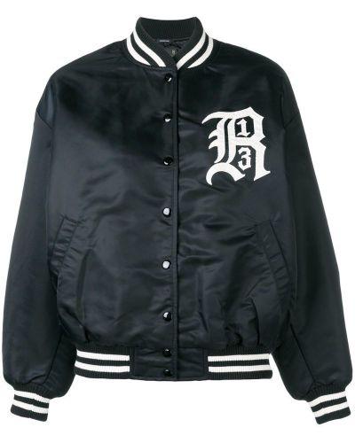 Черная куртка с манжетами R13