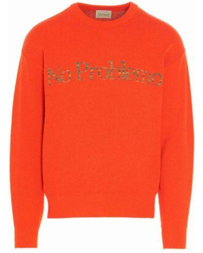 Sweter - pomarańczowy Aries