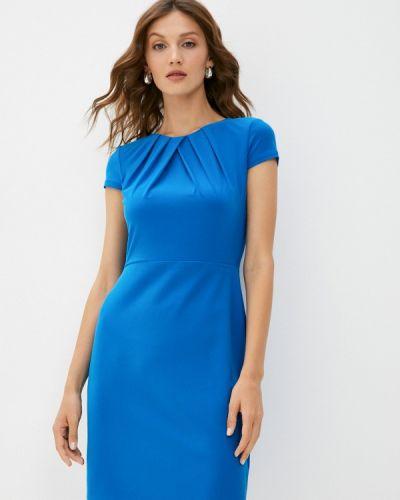 Платье футляр - голубое Lauren Ralph Lauren