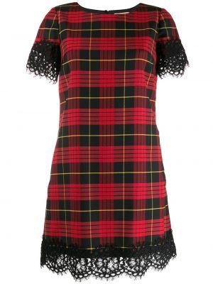 Прямое с рукавами черное платье мини Twin-set
