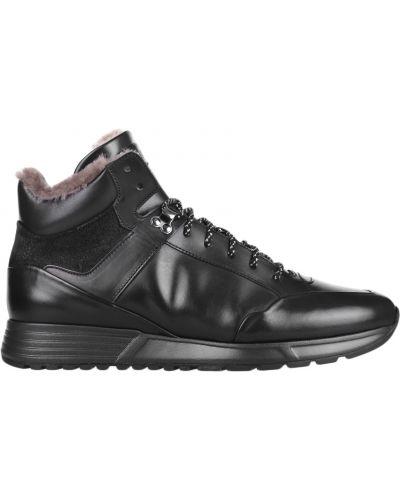 Ботинки спортивные осенние кожаные Fabi