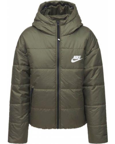 Куртка с капюшоном - зеленая Nike