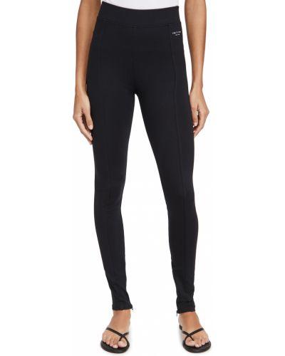 Czarne legginsy z wiskozy Rag & Bone