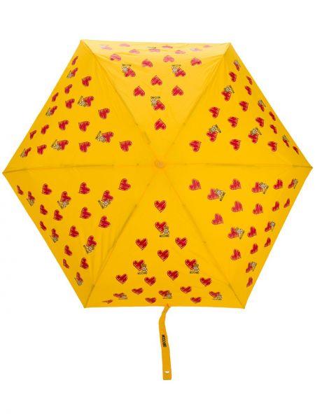 Parasol - żółty Moschino