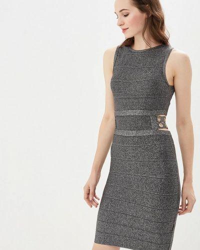 Платье осеннее серое Soky & Soka