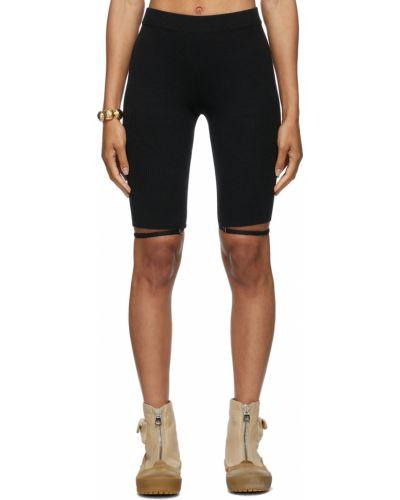 Черные шорты короткие Jacquemus