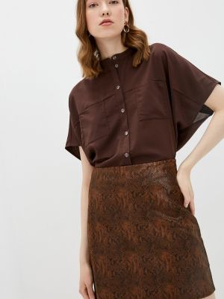 Блузка - коричневая Theone By Svetlana Ermak