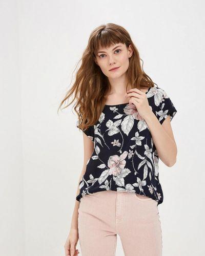 Блузка с коротким рукавом синий Only