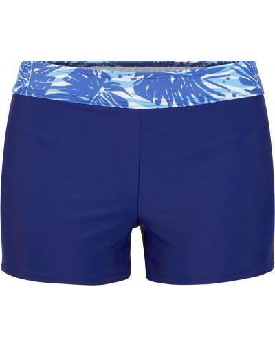 Купальный синий купальник Bonprix