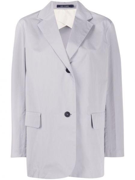 Пиджак с карманами с воротником на пуговицах Sofie D'hoore