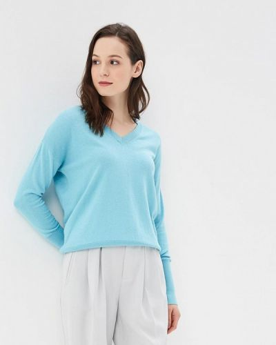 Голубой пуловер Rodier