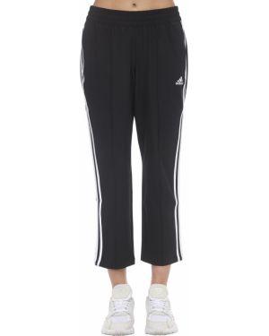 Спортивные брюки на резинке укороченные Adidas Performance