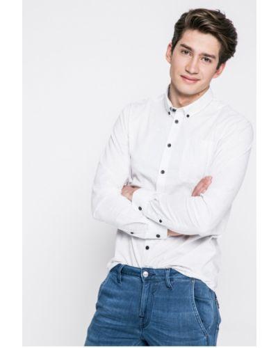 Рубашка с карманами белый Casual Friday