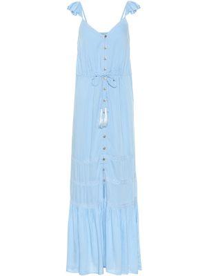 Синее летнее платье Melissa Odabash
