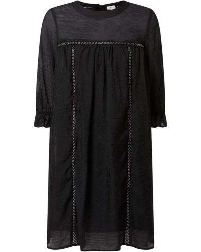 Sukienka rozkloszowana - czarna S.oliver Red Label