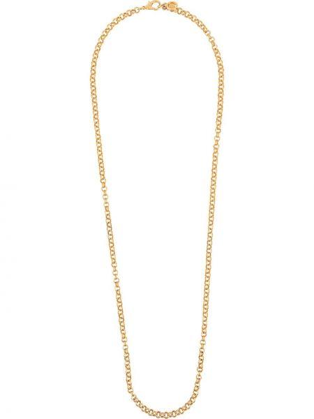 Золотистая желтая цепочка позолоченная Givenchy Pre-owned
