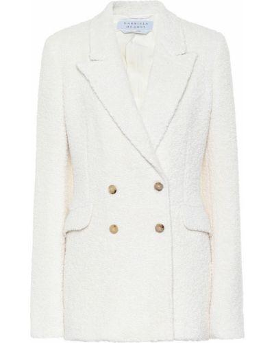 Шерстяной белый классический пиджак Gabriela Hearst