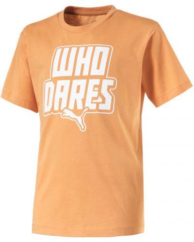 Рубашка оранжевый турецкий Puma